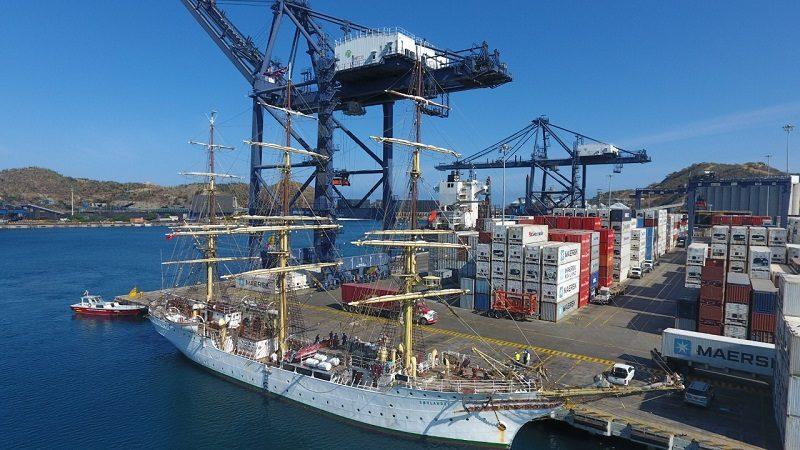 Llegó a Santa Marta el barco noruego más antiguo del mundo