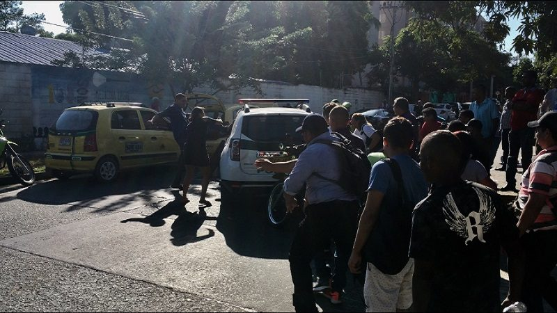 Por poco linchan al capturado por el atentado en Estación de Policía en Barranquilla