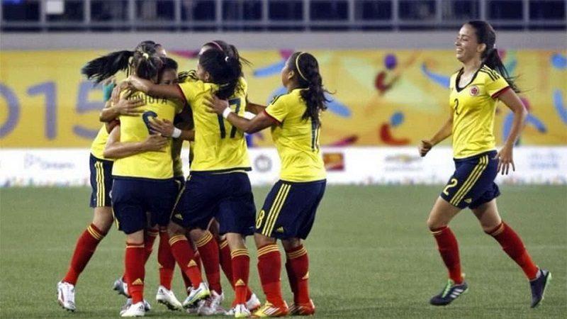 Selección Colombia femenina sub-20 goleó 9-0 a Perú en el Suramericano