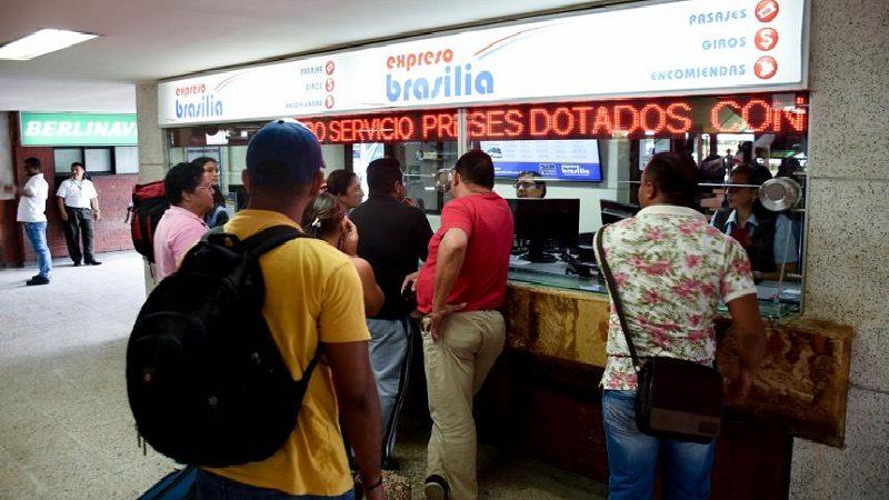 Terminales de Transporte movieron 4,9 millones de pasajeros durante en el puente de Reyes