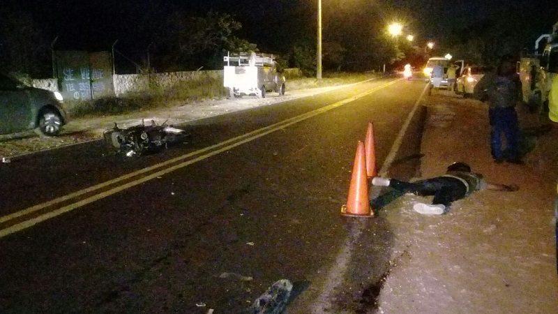 Un motociclista muerto deja accidente de tránsito en la antigua vía a Puerto Colombia