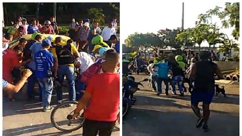 Un vigilante muerto y uno herido en atraco al carro de valores en el Éxito Metropolitano de Soledad1