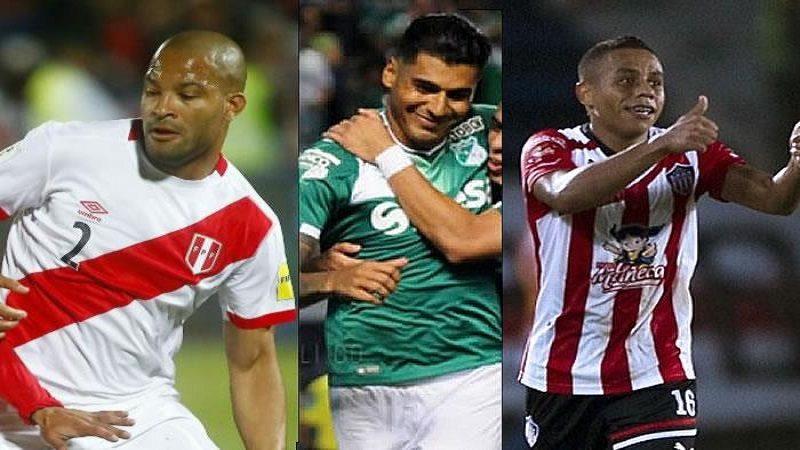 Vladimir Hernández, Jefferson Duque y Alberto Rodríguez, refuerzos del Junior