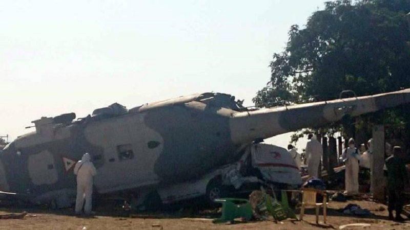 Accidente de helicóptero en México deja 13 muertos y 15 heridos