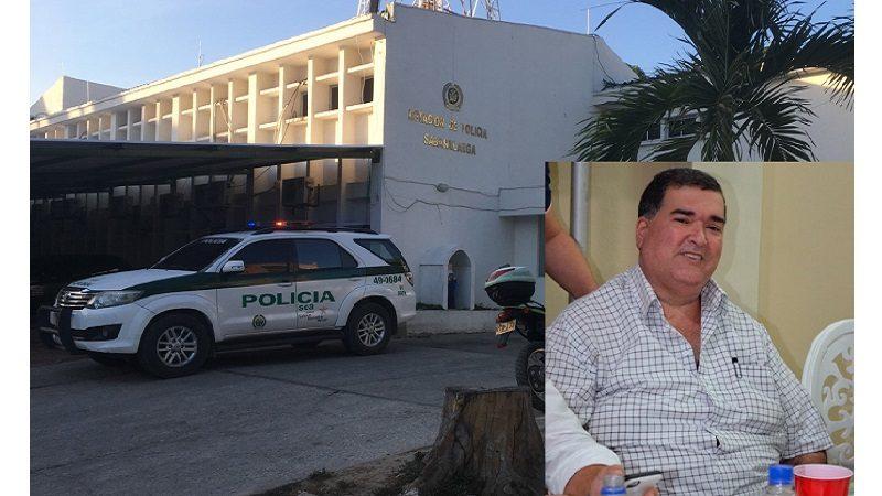 Alcalde de Sabanalarga cumple 3 días de arresto en la Estación de Policía municipal