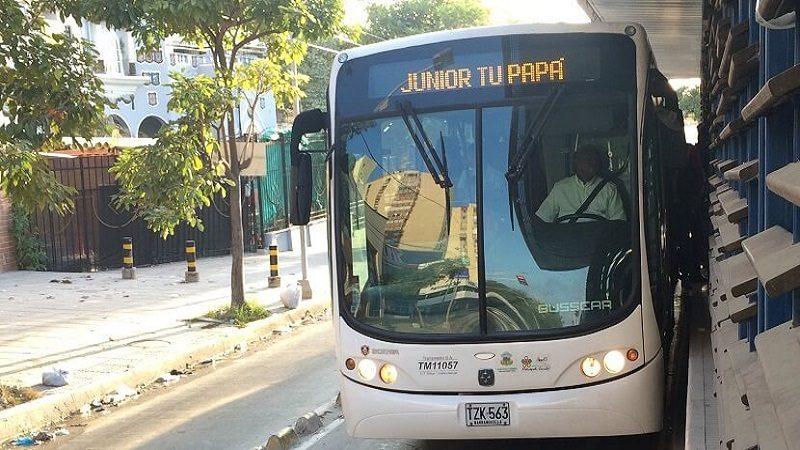 Así va a ser la operación de Transmetro para el partido Junior - Palmeiras, este jueves