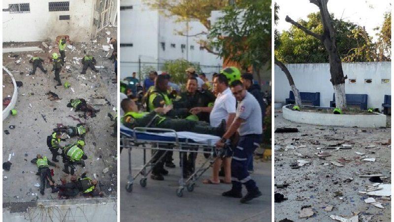 Atentados del Eln en Barranquilla y Bolívar violaron el DIH