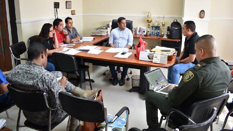 Desmontan publicidad política ilegal en el municipio de Malambo