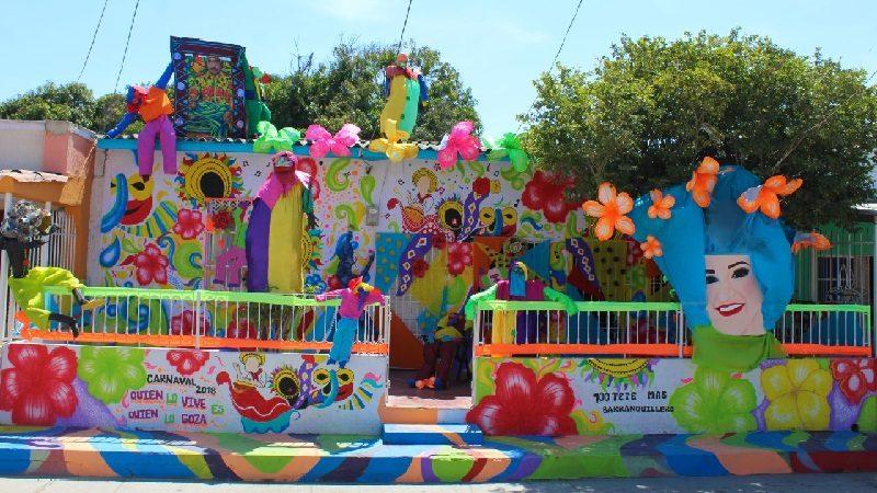 Esta casa del barrio Las Nieves se lleva el premio 'Mejor Fachada de Carnaval 2018'