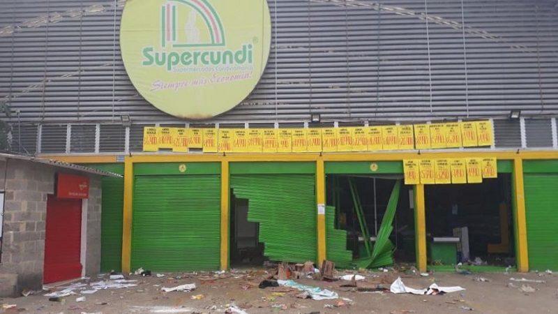 FARC niega relación con cadena de supermercados afectada por saqueos