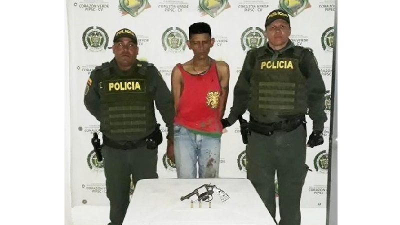 Hombre capturado en el barrio Los Cusules tenía detención domiciliaria