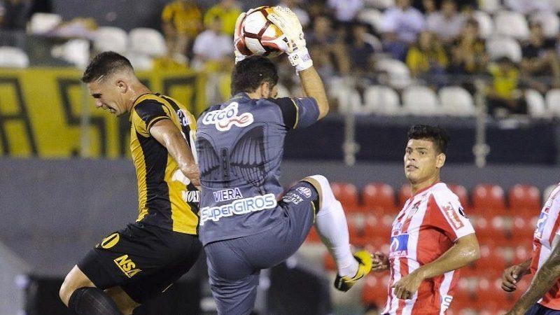 Junior en Paraguay empató 0-0 con Guaraní y clasificó al grupo H