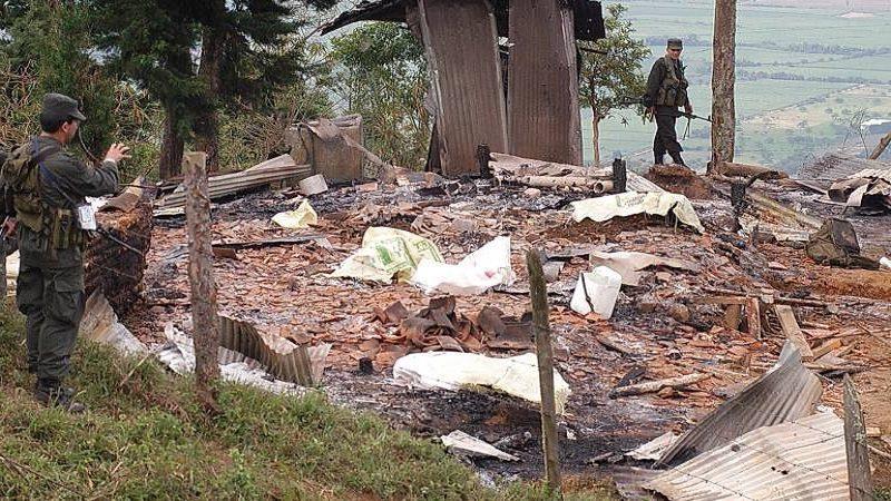 Lanzan artefacto explosivo contra Estación de Policía en Norosí, sur de Bolívar