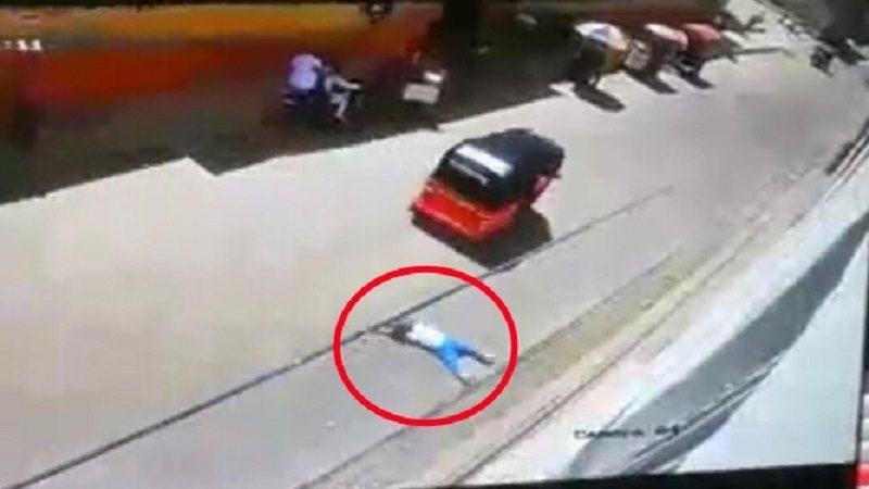 Motocarro atropella a un niño en el barrio Tajamar de Soledad