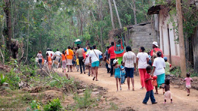 ONU alerta desplazamiento de 111 personas por amenazas del Eln en Chocó