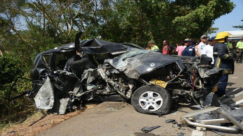 Personera del Cerro de San Antonio, sus dos hijos y la niñera, muertos en accidente de tránsito