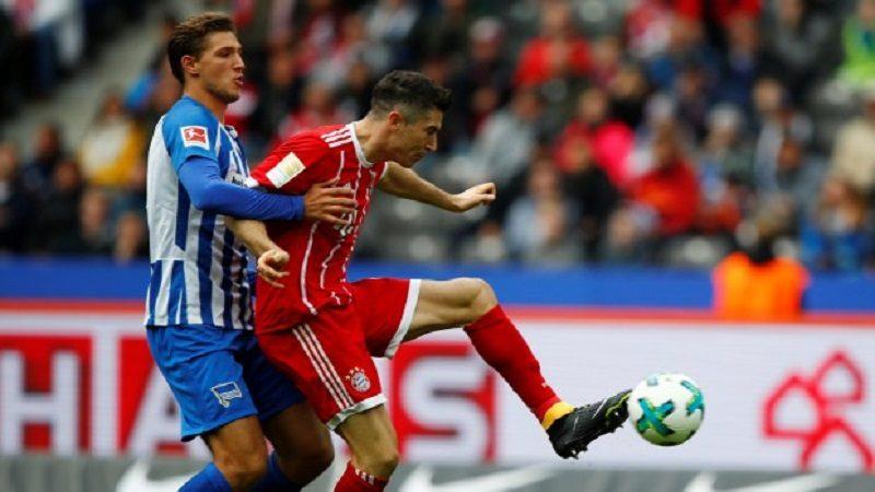 Sin James Rodríguez, Bayern Múnich igualó 0-0 con Hertha Berlín