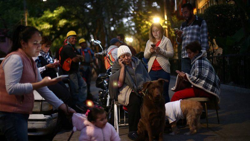 Terremoto de magnitud 7,2 sacudió a México