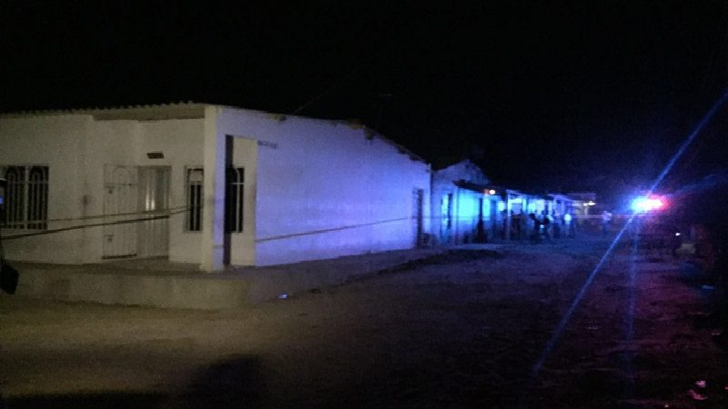 Una mujer muerta y un hombre heridos deja ataque de sicarios en Villa Adela