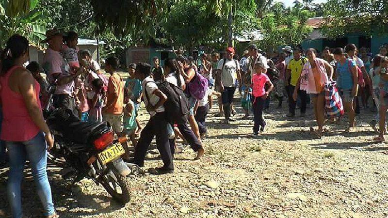 Ya son más de 800 los campesinos desplazados por el Eln denuncia ONU