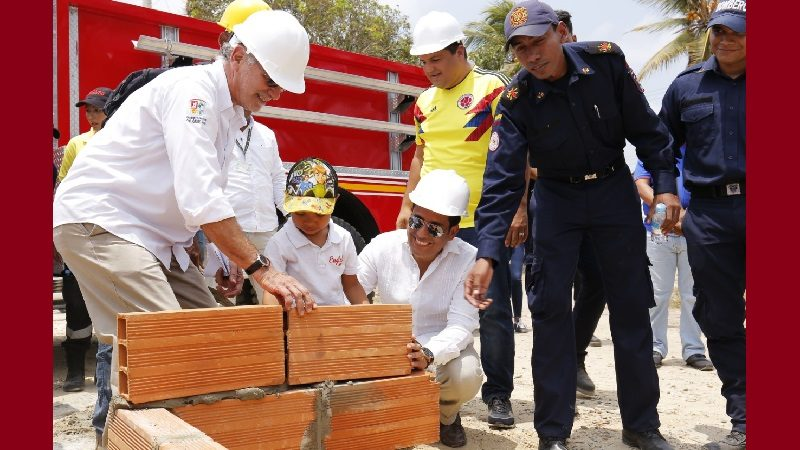 Arrancan construcción de nueva estación de Bomberos en Villa Olímpica