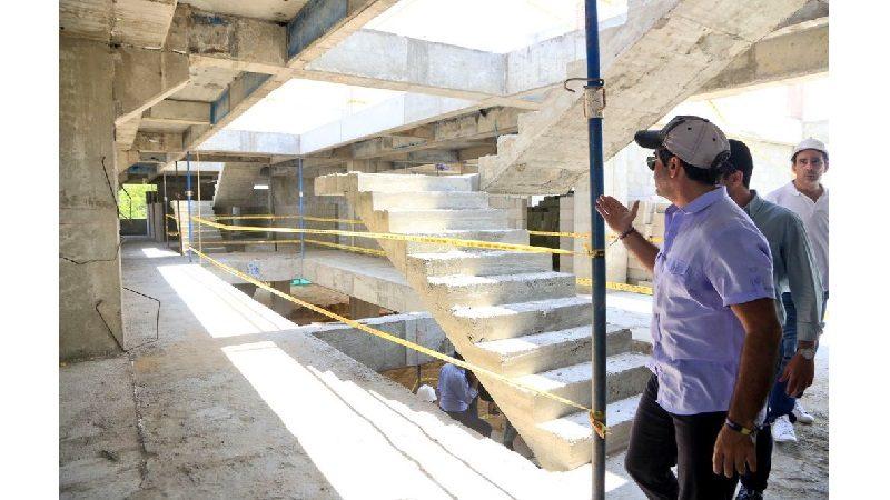 Avanzan obras de remodelación en cinco colegios oficiales de Barranquilla