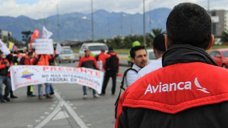 Avianca ha despedido a 107 pilotos y suspendido a 190 más por la huelga