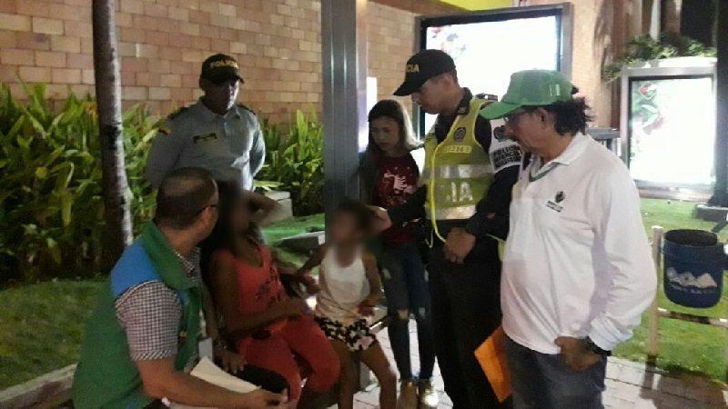 Bajo protección del ICBF, cinco menores de edad que se encontraban en condición de trabajo infantil en Barranquilla