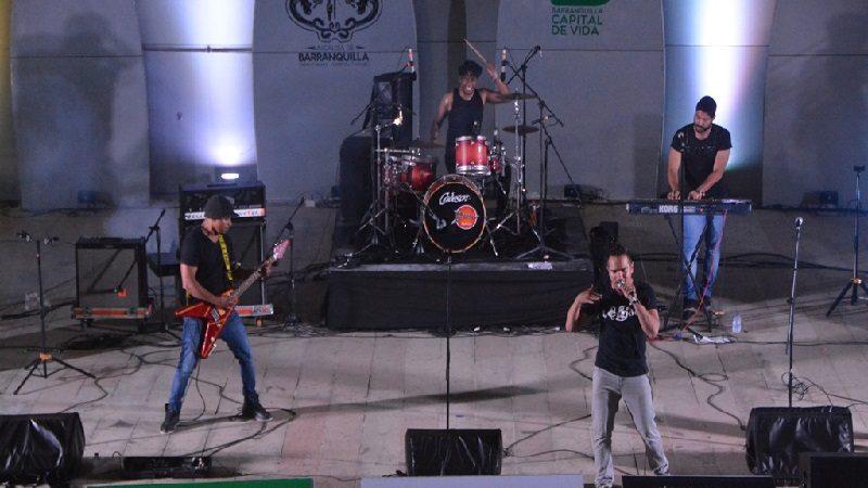 Barranquilla disfrutó del rock en el parque Sagrado Corazón
