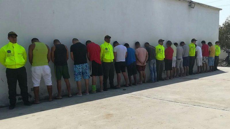 Caen 18 personas que cometían delitos contra los niños en Barranquilla y Soledad