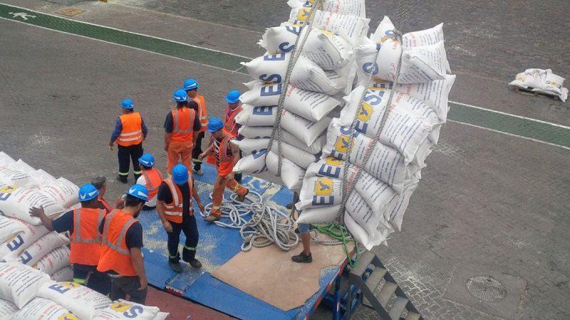 Colombia realiza su primera exportación de arroz blanco