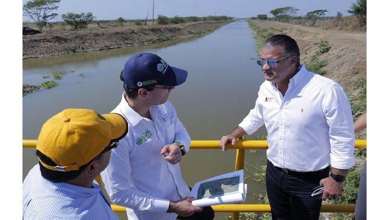 Culmina primera etapa de rehabilitación de distritos de riego en el sur del Atlántico