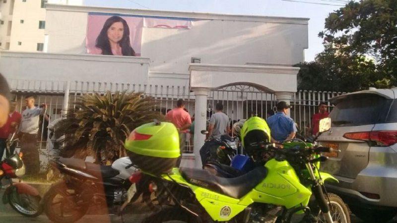 Fiscalía decomisa la 'Casa Blanca' de Aida Merlano, en el norte de Barranquilla