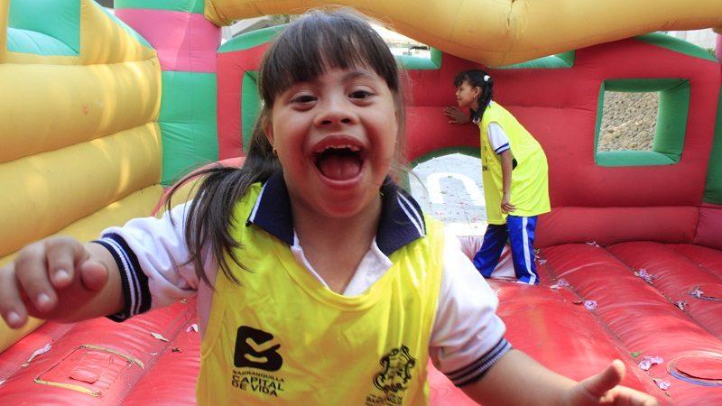 Más de 200 niños y jóvenes demostraron que no hay límites para practicar el deporte
