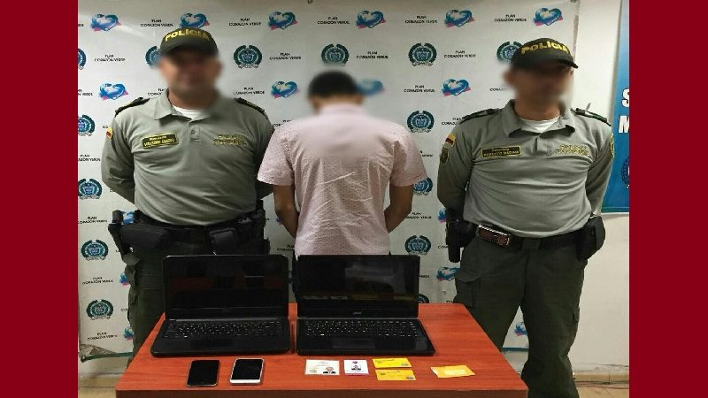 Menor de edad que se paseaba por hoteles de Barranquilla y pagaba con documentos falsos