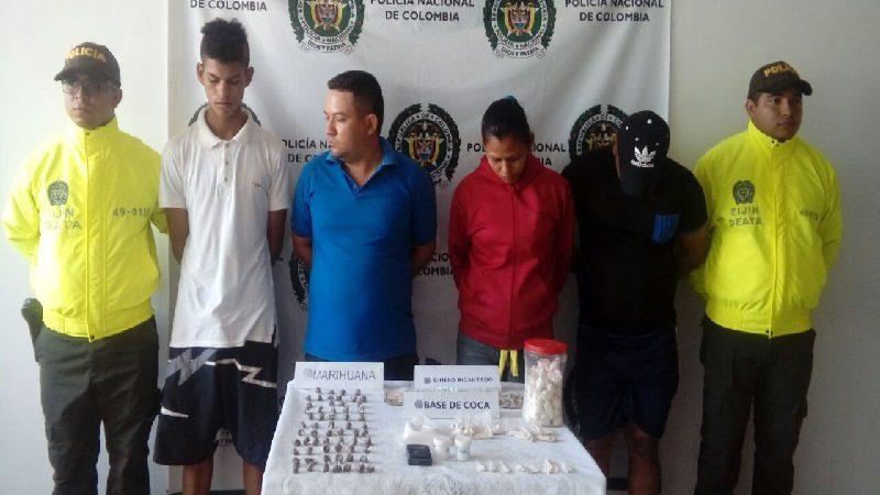 Policía desarticula banda 'Los de la Sabana', que vendía droga en Barranquilla y Sabanalarga