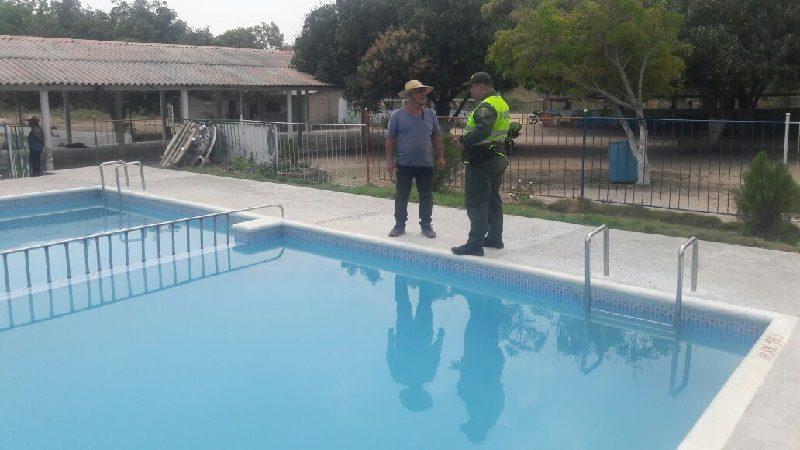 Sellan piscina en centro recreacional de Sabanagrande por tener rescatistas