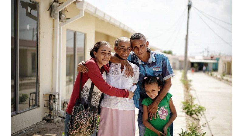 Soledad, Atlántico, estrena 96 casas adaptadas al cambio climático