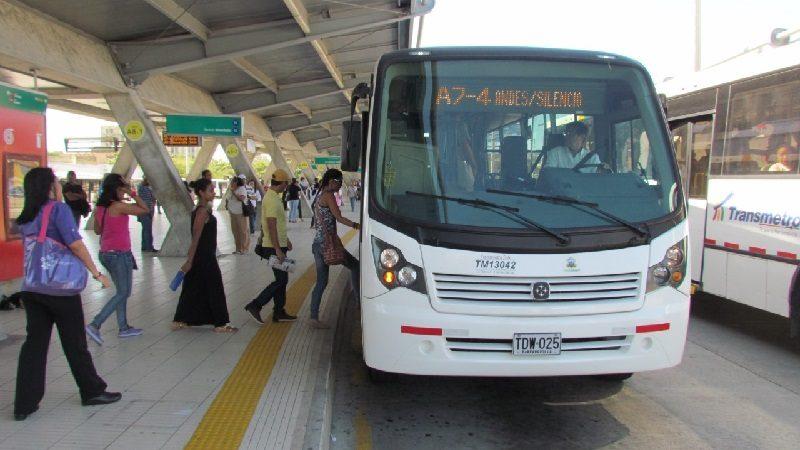 Transmetro modifica desvíos de rutas A7-1 Miramar, A7-3 Carrera 38 y A7-4 Los Andes