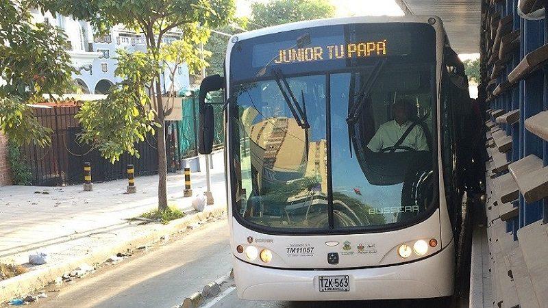 Transmetro tiene lista operación por partido Junior – Millonarios, este domingo 18 de marzo