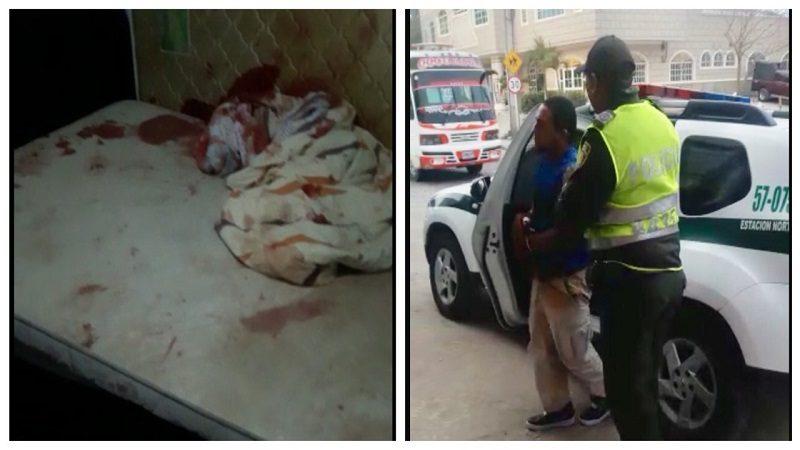 Venezolano apuñala a hombre que le dio alojo en el barrio Los Almendros