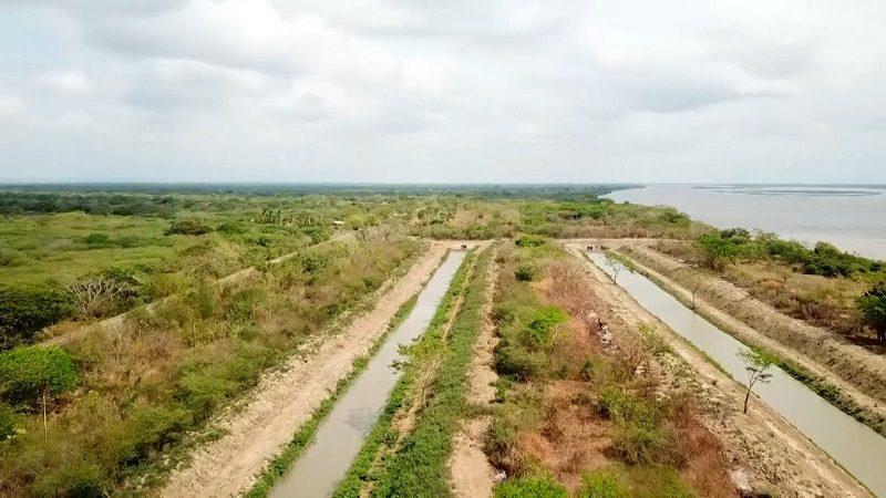 Verano y ministro de Agricultura revisan avance de obras en Atlántico