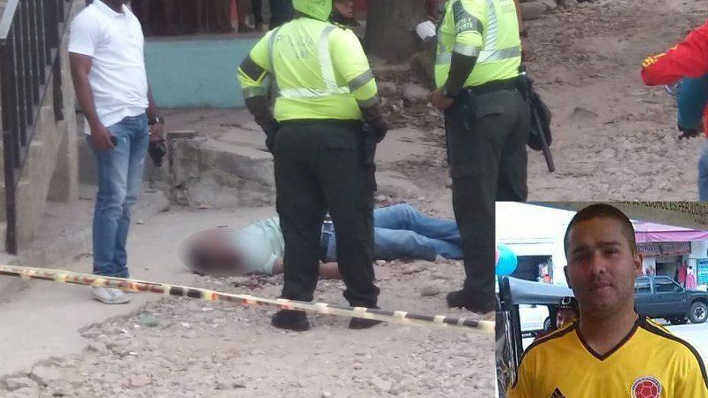 Atracadores matan a detective de la Sijín en el barrio Siete de Abril