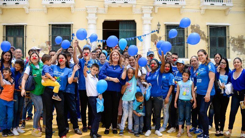 Autistas celebraron su día invitados por la Alcaldía de Soledad