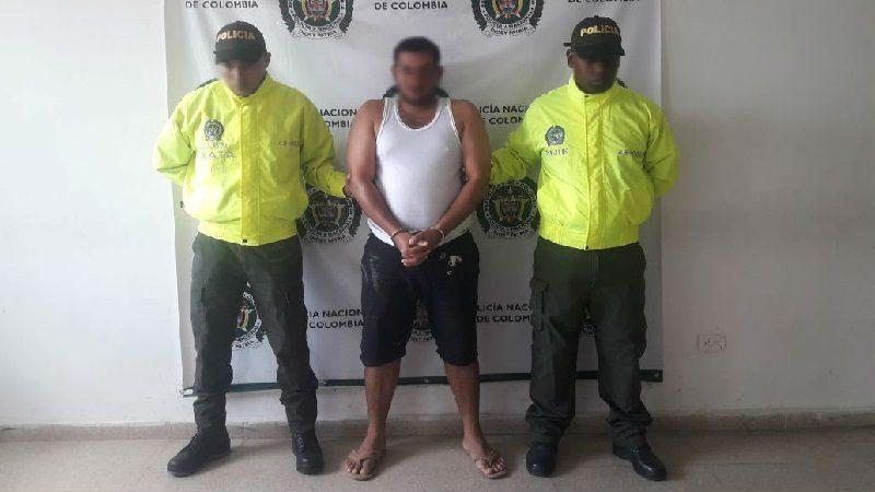 Capturan a 'el Cachaco', señalo de asesinar a dos personas en Sabanalarga