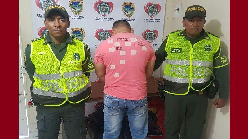 Capturan a hombre que ofreció $50.000 a un Policía para que no le impusieran comparendo