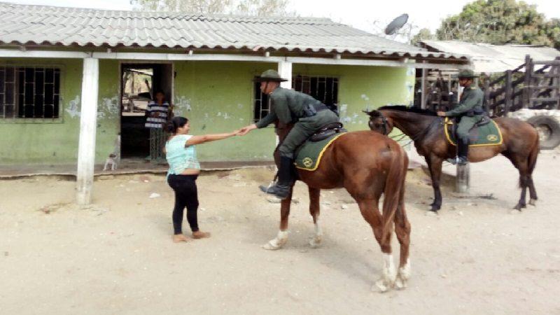 Con Policía de Carabineros refuerzan seguridad en áreas rurales del Atlántico