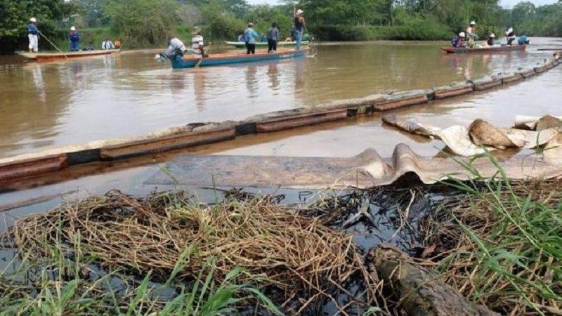 Ecopetrol debe indemnizar por los perjuicios del derrame de petróleo del pozo La Lisama