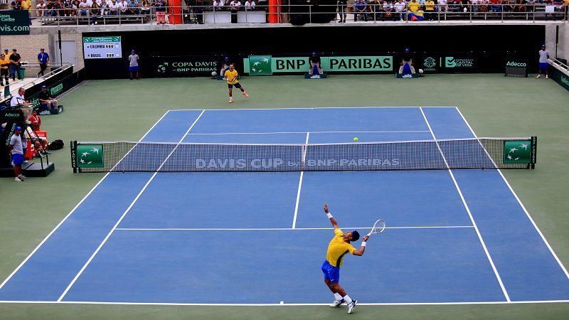 El Parque de Raquetas de Barranquilla pasó el examen con la Copa Davis