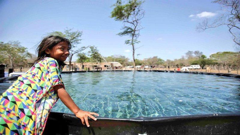 Familias campesinas e indígenas de La Guajira reciben 37 pozos de agua